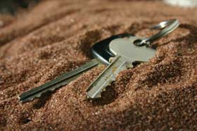 lost keys The lost key